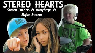 Gym Class Heroes: Stereo Hearts ft Adam Levine (Carson Lueders & MattyBRaps ft Skylar Stecker Cover)