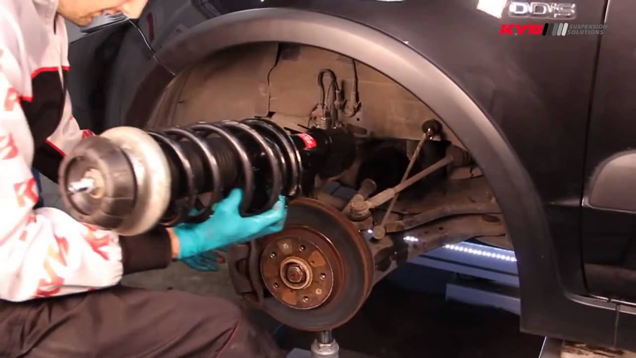 how to replace front shock absorbers on suzuki sx4 fiat sedici youtube [ 1280 x 720 Pixel ]