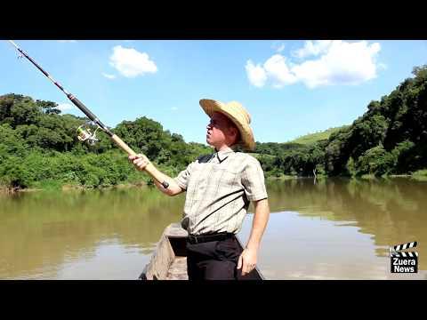 Zuera News - Pescaria no Rio Ivaí.