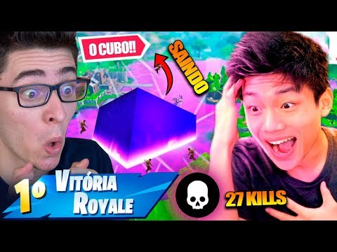 MATAMOS TODO MUNDO QUE FOI VISITAR O CUBO FORTNITE: BATTLE ROYALE *FLAKES POWER