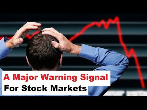 A Major Warning Signal For Stock Markets According to Dow Theory