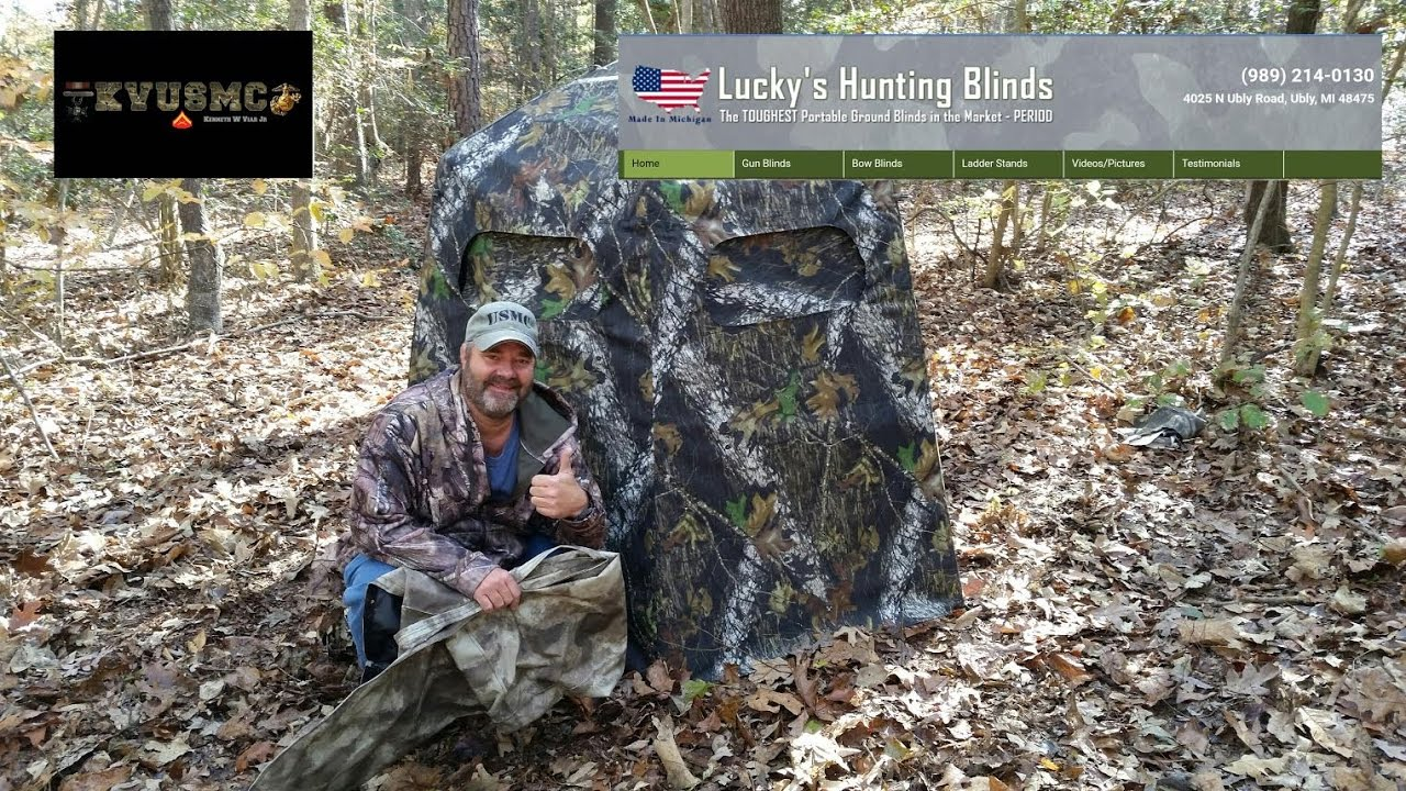 edition a bow watch hunt hunting for with blind ground deer youtube blinds