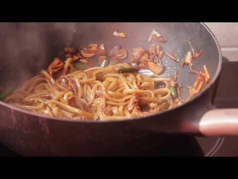 Китайская лапша удон с курицей, Китайская еда рецепты, Доставка китайской еды