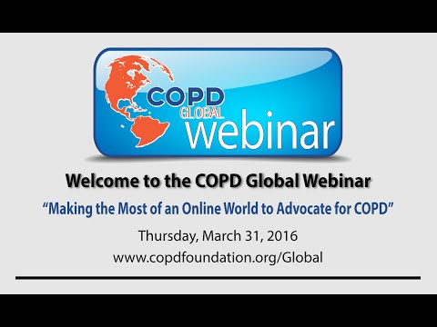 March 31, 2016   Making The Most Of An Online World To Advocate For COPD