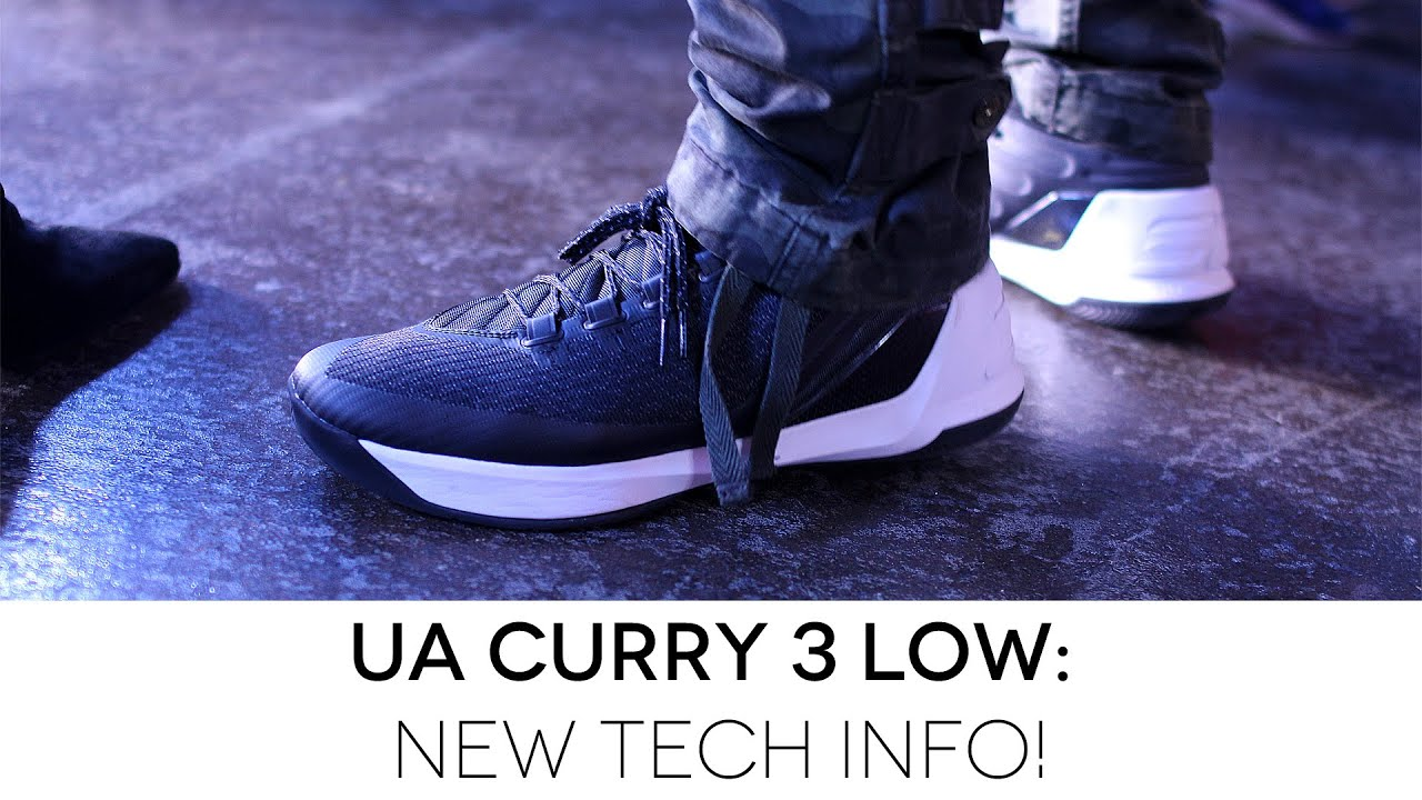 596c4a627b33 Under Armour Curry 3  New Tech Info! - YouTube