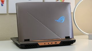 ASUS ROG G703-XS98K Review Core i9-8950HK GTX1080