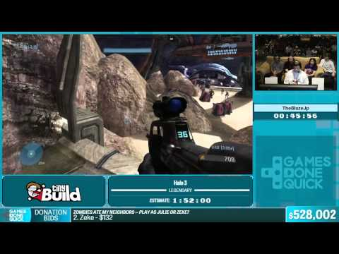 Halo 3 by TheBlazeJp in 1:54:24 - Summer Games Done Quick 2015 - Part 114