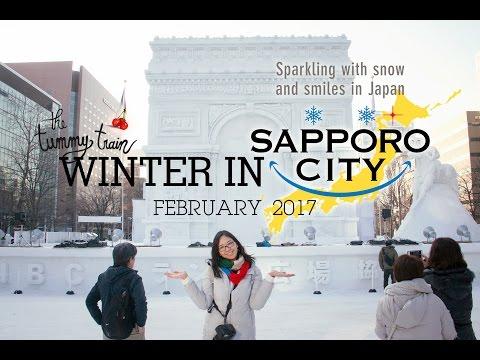 [TRAVEL] Sapporo Winter 2017 Visual Diary