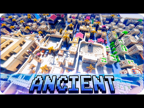 "Minecraft - ANCIENT CITY ""Lakandahar"" in Minecraft - Cinematic & Map Download"