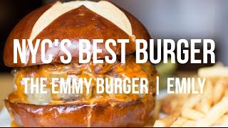 The Best Burger in New York - The Emmy Burger - Emily, Brooklyn