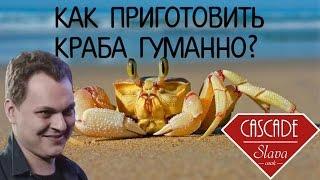 Хованский живодёр.  3 способа гуманно убить краба  (slava cook)