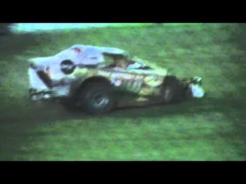 V8 Dirt Modifieds Feature - Grafton Speedway - 03.10.15 - dirt track racing video image