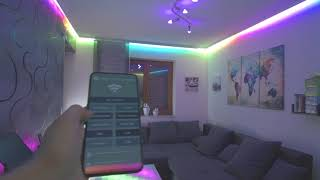 WS2812B 15m LED Strip with App Control