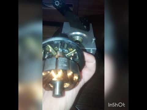 Разборка и ремонт электро двигателя блока ABS