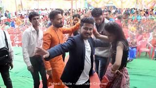 Garhwali Girls & Boys Dance in Pahadi Wedding