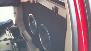 Custom Stereo System 2004 Chevy Avalanche
