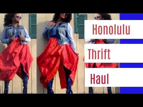 Honolulu Thrift Video: Salvation Army & Goodwill