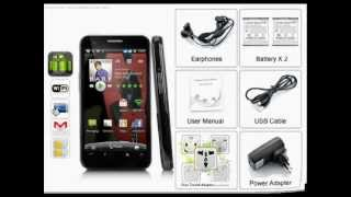 """$144.99 3G Android Phone """"Aura"""" - Dual SIM, Capacitive 4.3 Inch Touch Screen, 5MP Camera"""