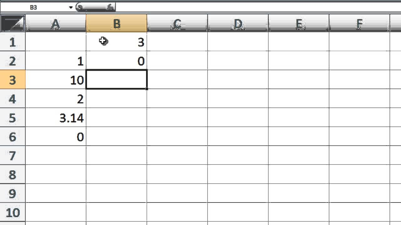 Excel VBA Topic 1.4 - Built-in Functions in Excel - YouTube