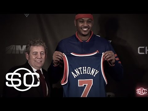 Melo finally gets his freedom in OKC | SportsCenter | ESPN