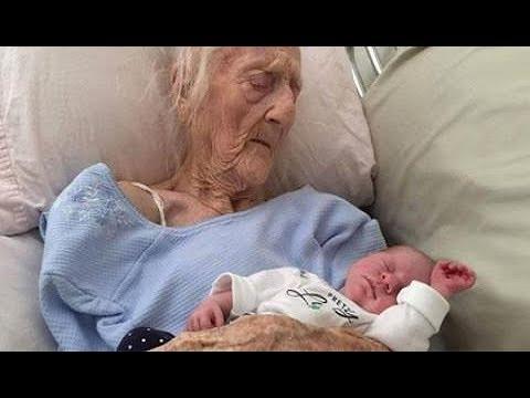 101 वर्ष की महिला ने दिया बच्चे को जन्म