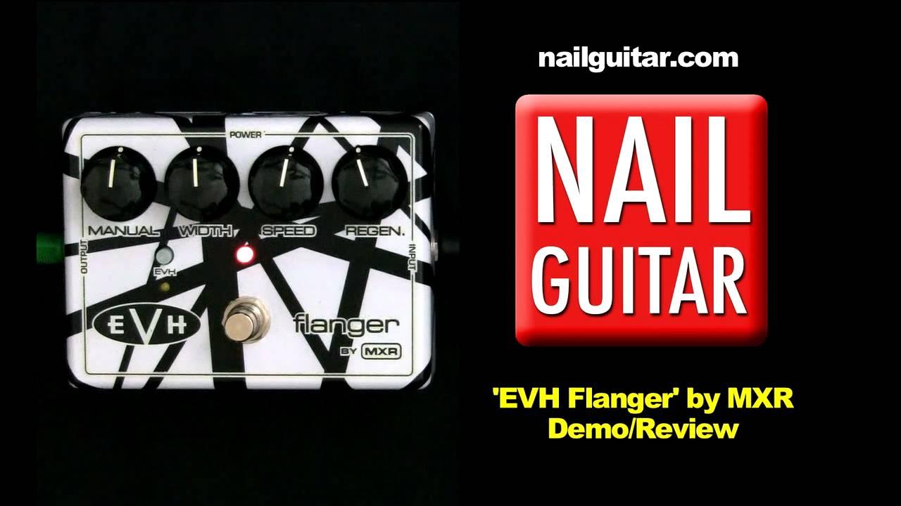 guitar pedal demo evh flanger mxr eddie van halen stomp box effects youtube. Black Bedroom Furniture Sets. Home Design Ideas