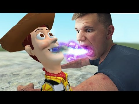 EATING WOODYS SOUL!? Toy Story | Gmod Sandbox #260