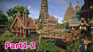 【Minecraft】ゆっくり街を広げていくよ part1-2