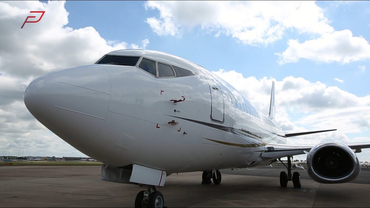 Introducing the Boeing 737-300 series BBJ | PrivateFly - YouTube