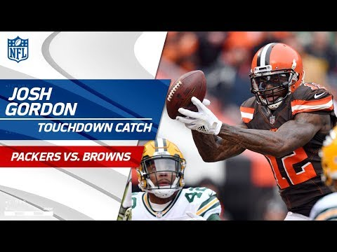 Josh Gordon's 1st TD Since His Return 😎 | Packers vs. Browns | NFL Wk 14