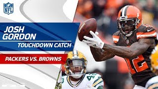 Josh Gordon's 1st TD Since His Return 😎 | Packers vs. Browns | NFL Wk 14