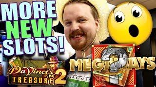 Book of Megaways + Da Vinci's Treasure 2!? 😱 - New slots ICE 2019 | Vlog 37