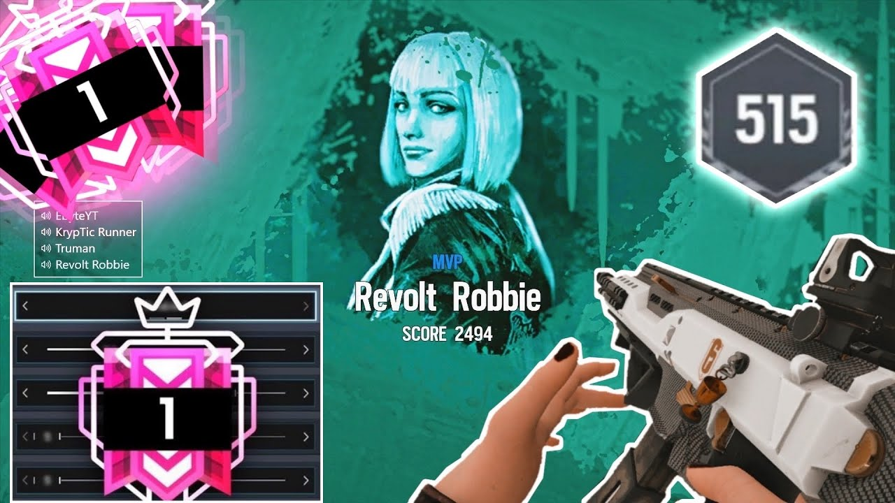 Champion *NEW* BEST *NO* Recoil Settings & Sensitivity PS4/XBOX - Rainbow Six Siege Console