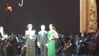 Софи Лорен в Большом театре вручила награду Владимиру Спивакову