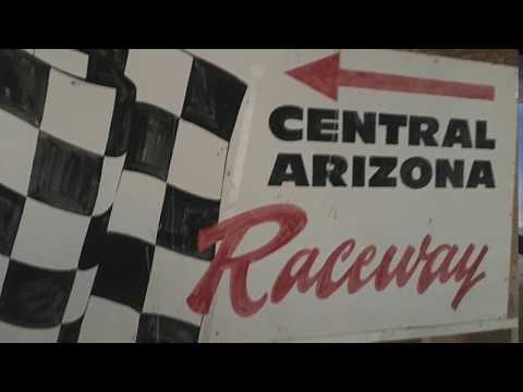 Crash of Modified Dirt track cars at Central Arizona Speedway