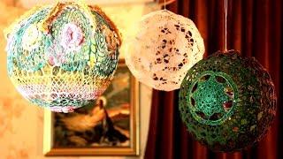 Большие шары на елку  | Новый год 2016 | Мастер-класс 10(, 2014-12-21T20:30:18.000Z)