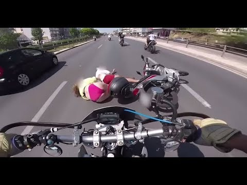 Ultimate Motorcycle Crash in Greece