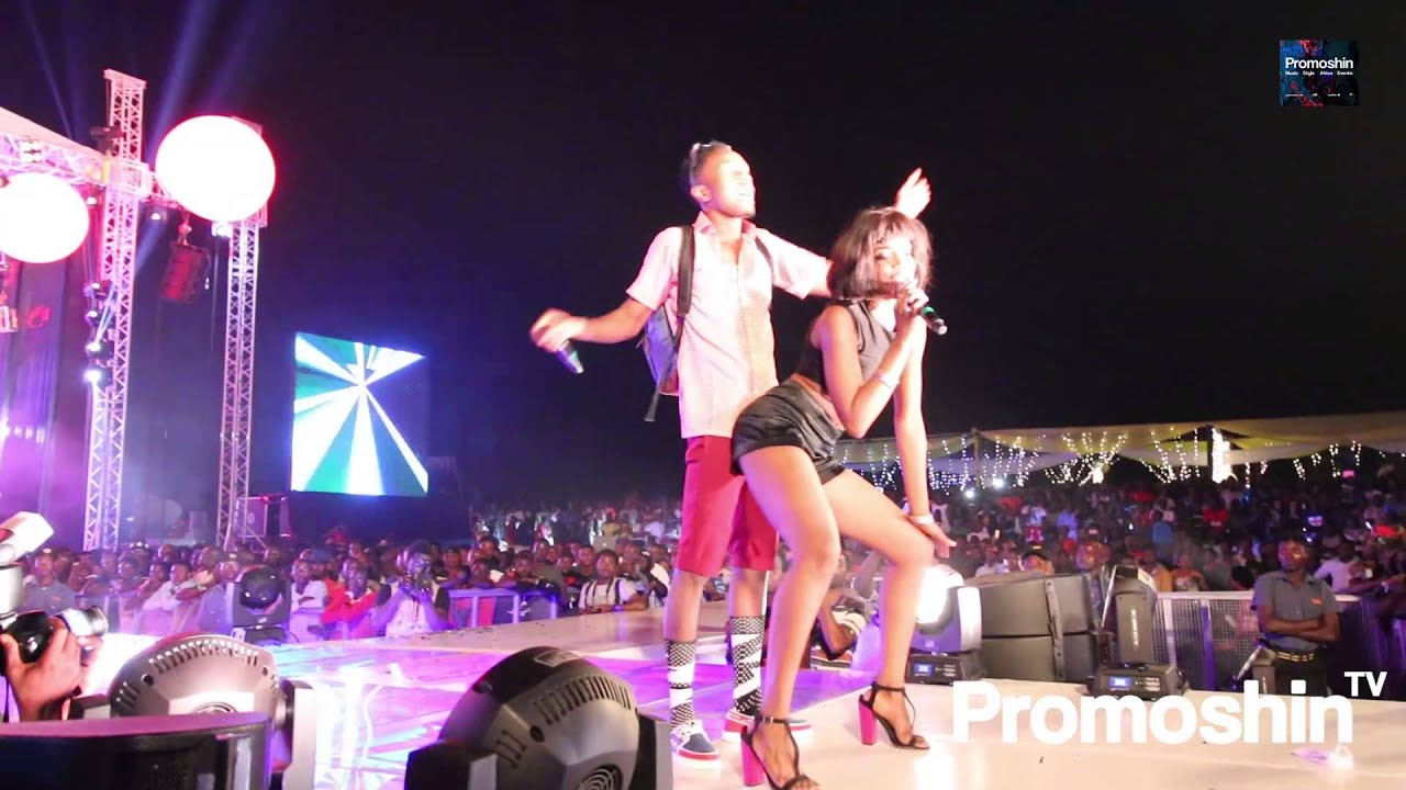 Download Patoranking Whines With Seyi Shay (Live At #LagosCountdown)
