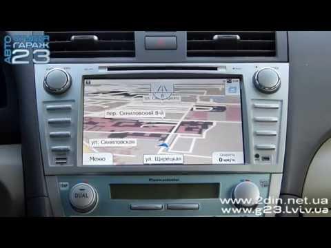 Установка штатной магнитолы Toyota Camry Андроид - GPS навигация. Ca-Fi Android