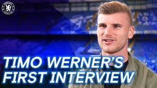 Timo Werner's First Interview | Welcome To Chelsea | Exclusive