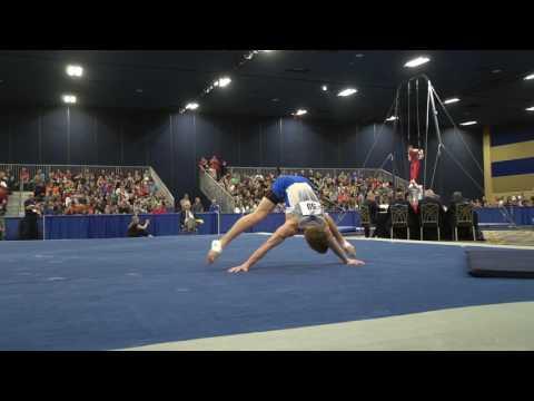 Jacob Moore  Floor Exercise  2017 Winter Cup Finals