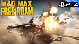 Mad Max: PS4 - Free Roam Gameplay RACING, LOOTING & KILLING - 1080p