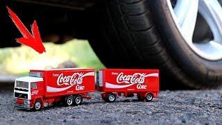 EXPERIMENT: CAR VS COCA COLA TRUCK