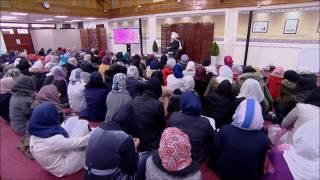 Le calife de l'islam s'addresse aux jeunes filles de Londres - 2017
