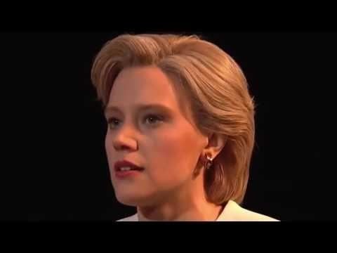 SNL  Kate McKinnon as Hillary Clinton Sings 'Hallelujah' On Saturday Night Live