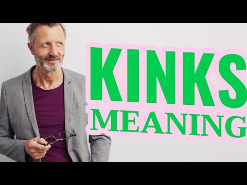 Kinks   Definition of kinks
