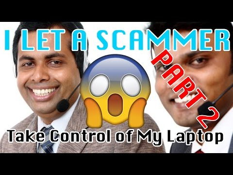 I let a SCAMMER TAKE CONTROL OF MY COMPUTER PART 2