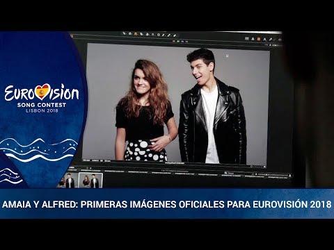 Primeras ** IMÁGENES OFICIALES de AMAIA Y ALFRED ** para Eurovisión 2018