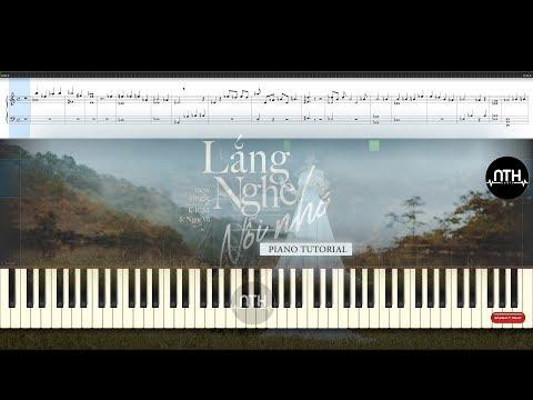 Piano Tutorial -  Lắng Nghe Nỗi Nhớ