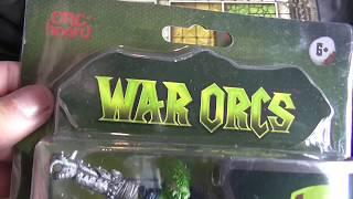 Poundworld War Orc figures review